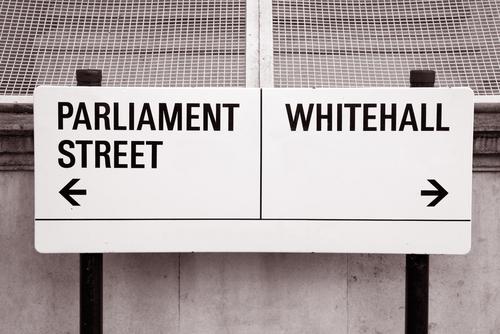 Whitehall street sign
