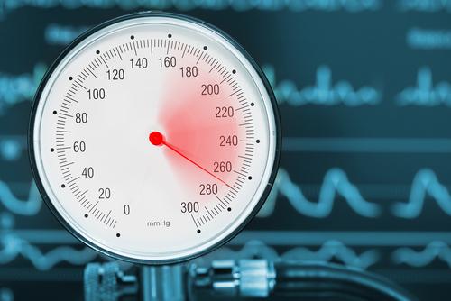 pressure gauge in danger zone